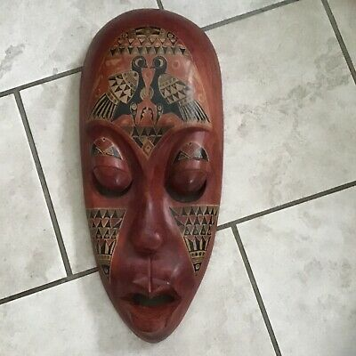 Tribal Mask Wood from Thailand
