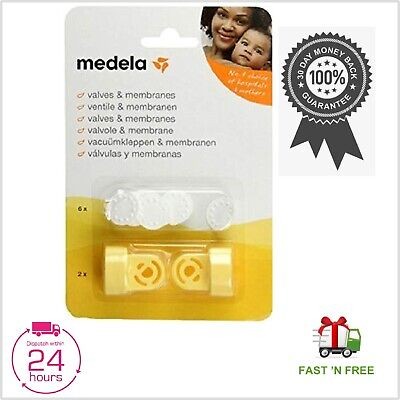 Medela Swing Harmony Mini Electric Women Breastpump Replacement Valves Membranes