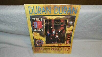 DURAN DURAN SEVEN AND THE RAGGED TIGER songbook, Notenbuch Partition BE OCCASION