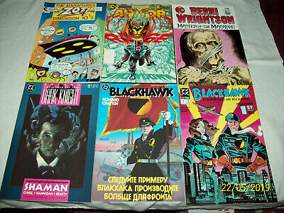 60 Comic Book Lot V for Vendetta SciFi Jonny Quest Arrow Hellbazer Cerebus B1