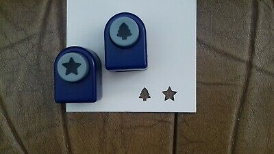 2 x Paper Punches crafts scrapbookings card making Argos