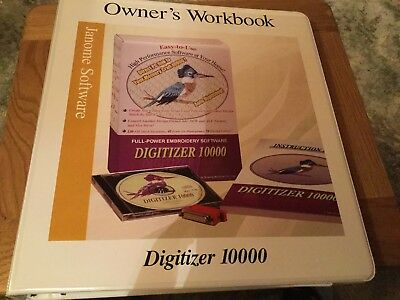 Janome Owners Workbook For Digitizer 10000