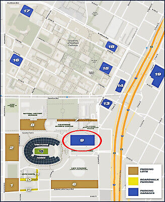 Los Angeles Rams vs. Bears Parking Pass (Nov 17,2019) - Great Location