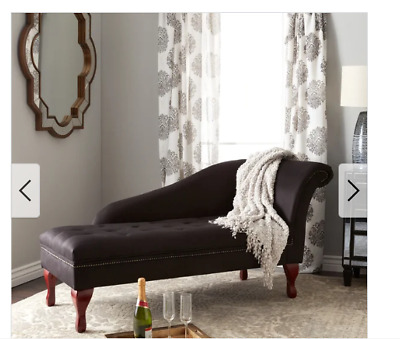 Fine Storage Chaise Lounge Black Tufted Upholstered Bedroom Couch Inzonedesignstudio Interior Chair Design Inzonedesignstudiocom