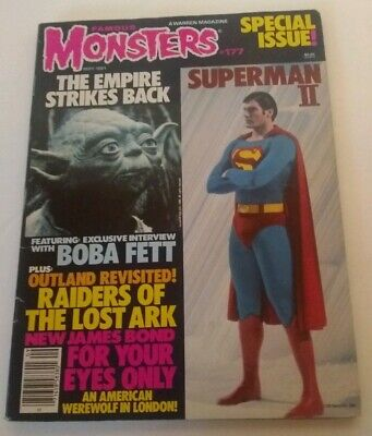 Famous Monsters Magazine Special Issue # 177 The Empire Strikes Back
