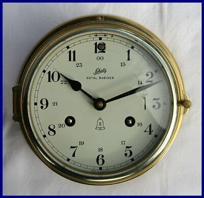 Schatz Royal Mariner German 8 Day Maritime Ships Bell Clock