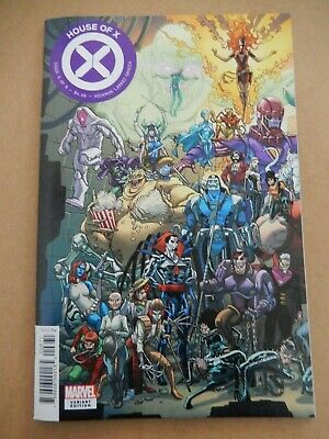 House of X #6 Javi Garron Connecting Variant 1st Print X-Men Sabertooth NM