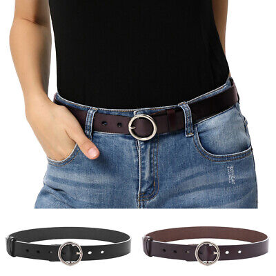 Belt For Pants Womens Pin Ladies Luxury 2.9cm Waist Gift Casual Buckle