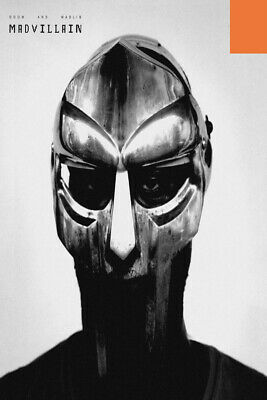 Custom Silk Poster Wall Decor MF Doom /& Madlib Avalanche