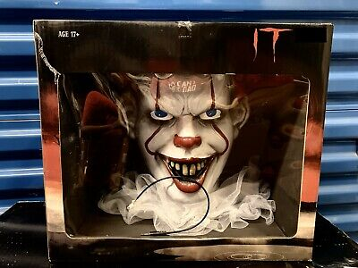 """2019 It Movie """"Pennywise In Sewer"""" Creepy Animated Speaking Halloween Prop Clown"""