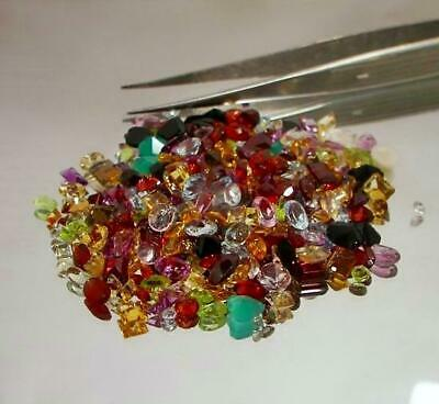 200+ Carat Mix Lot Loose Faceted Natural Gemstone Mixed Gems Wholesale Gemstones