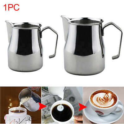 Drinks Stainless Steel Craft Coffee Frothing Pitcher Latte Milk Jug Barista