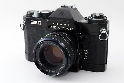 【AS IS】Pentax ES II ES2 35mm SLR Film Camera SMC 55mm f/1.8 Lens From Japan#A465