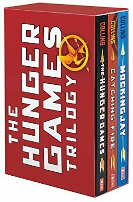 NEW - The Hunger Games Trilogy: The Hunger Games / Catching Fire / Mockingjay
