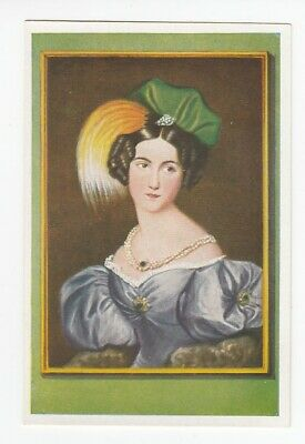 Vintage 1933 Trade Card JOSEPHINE THEER by husband artist ROBERT THEER