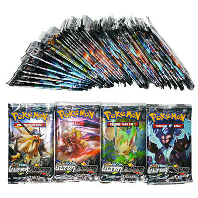 """324pcs Pokemon TCG Game Cards: Sun and Moon""""ULTRA PRISM"""" Sealed Booster Boxes"""