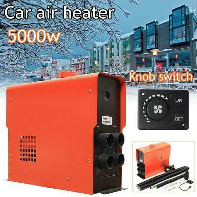12V 5000W Car Air Diesel Heater 4 Holes LCD Monitor PLANAR For Bus Trucks Boats