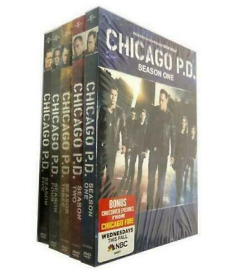 Chicago P.D. PD: The Complete Series Season 1-5 (DVD, 2018, 28-Disc Box Set) New