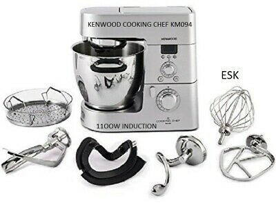 Kenwood KM094 Cooking Chef Food Processor, Bowl Size: 6.7L, 3L Cooking Capacity