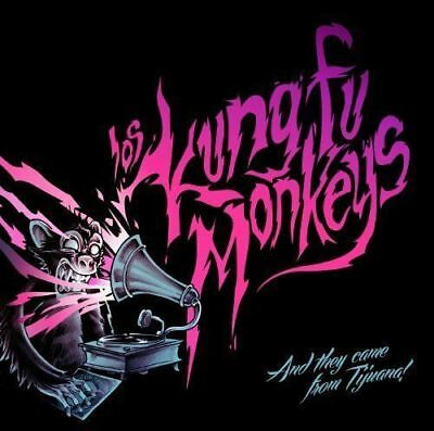 Los Kung Fu Monkeys-. . . And They Came From Ti Juana-Japan Cd E25