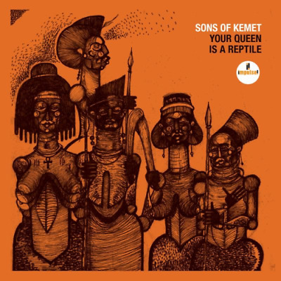 Sons Of Kemet-Your Queen Is A Reptile-Japan Cd F56