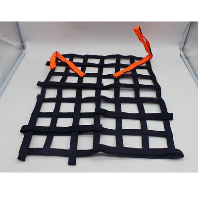 Black Racing Rally Car Safety Window Net Protector Racing-Car Safety Equipment T