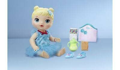 Baby Alive Ballerina Doll & accessories bottle,Nappies, Ballet Dance Time toys
