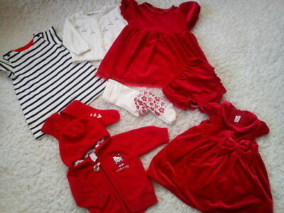 43x NEW USED BUNDLE OUTFITS BAKER NEXT GIRL 3/6 MTHS NR3