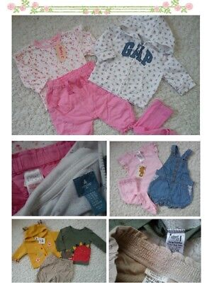 47x NEW USED BUNDLE OUTFITS MINNIE NEXT GIRL 0/3 MTHS NR2