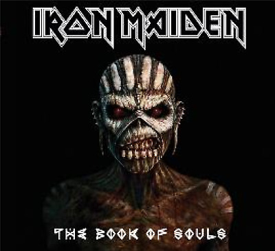 IRON MAIDEN The Book Of Souls  CD ALBUM NEW(21STNOV)