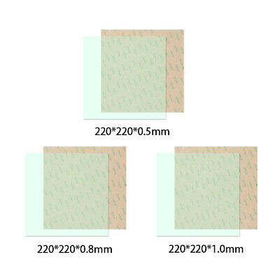 Practical Replacement High Performance Adhesive PEI Sheet 3D Printer Transparent