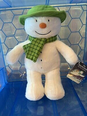 Official Licensed Snowman And The Snowdog Plush Toy. Snowman 30cm.
