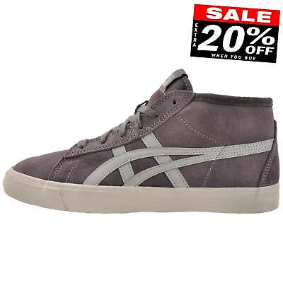 Onitsuka Tiger Fader Mid Men's Casual Fashion Suede Retro Trainers Grey