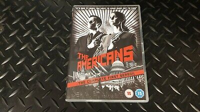 The Americans The Complete First Season 4 Disc Set DVD