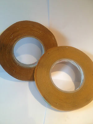 TISSUE DOUBLE SIDED (REFIX) TAPE 1roll x 13MM X 50M WATER RESISTANT
