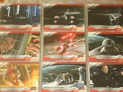 Star Wars 'The Last Jedi' Series 2: Topps Trading Card Base Sets  w/4 Chase Sets