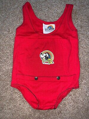 Vintage Bathingsuit Mickey Mouse Ero Leisure 12 Month One Piece