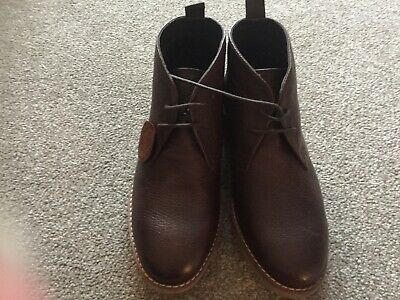 Boys Brown Lace Up Boots Marks And Spencer