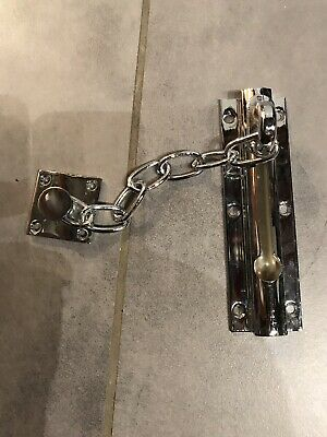 Polished Chrome Door Security Chain RRP £96