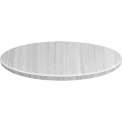 Round 1200mm White Line Table Top for Restaurant Use