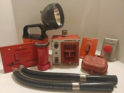 Protection Lot Kidde Fire Pull Fireman Hose Nozzle Abort Switch Bright Star deco