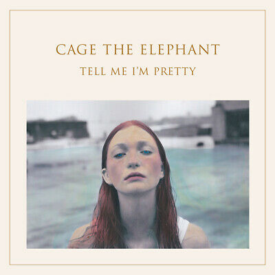 Cage the Elephant Albums Cover Poster Social Cues Silk Decor fabric 24x24 12 W19