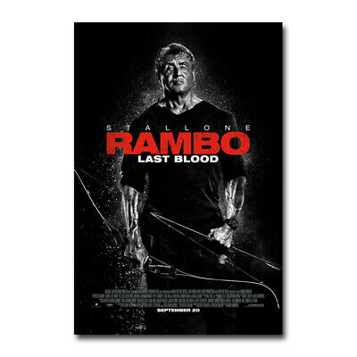 Rambo V Last Blood Poster Sylvester Stallone Action Movie 2019A4 A3 A2 A1