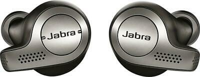NEW Jabra Elite Active 65t True Earbud Headphones Titanium Black 100-99010002-14