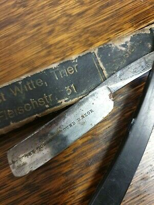 antique CUT THROAT RAZOR joseph rodgers
