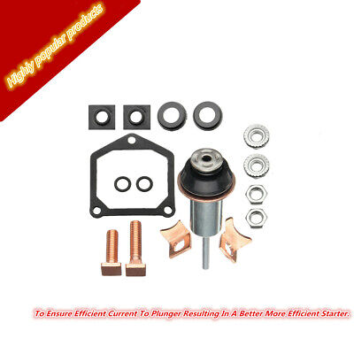 Metal&Plastic Starter Solenoid Repair Rebuild Kit Contacts Part Fit With Contact