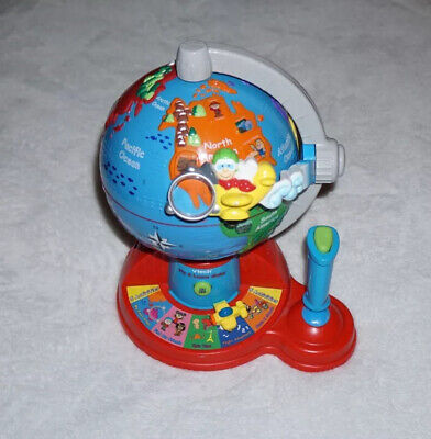 Vtech Fly and Learn Globe Children's Interactive Educational Toy Geography