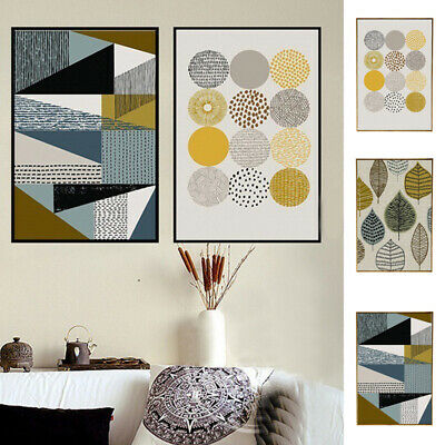 Abstract Wall Art Pictures Posters Geometric Home Canvas Paintings Decoration