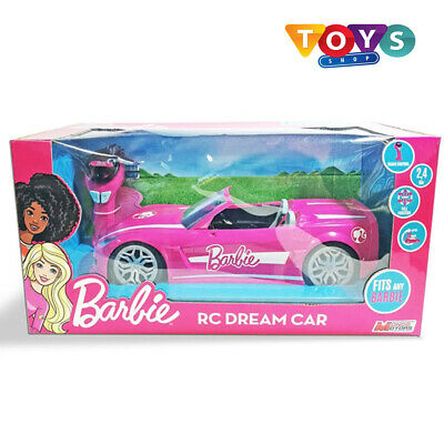 New Barbie RC Dream Car Convertible Vehicle Remote Control Free Delivery