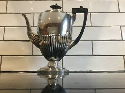 Walker and Hall Silver Plated Coffee Pot